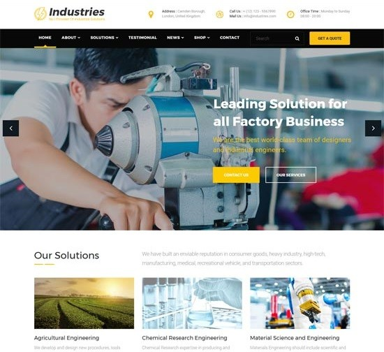 Creare Website Prezentare Companie